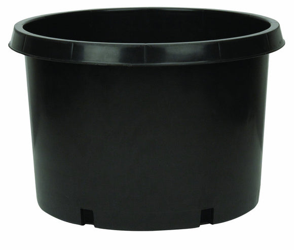 20 Gal. Black Resin Nursery Pot - C&J Gardening Center