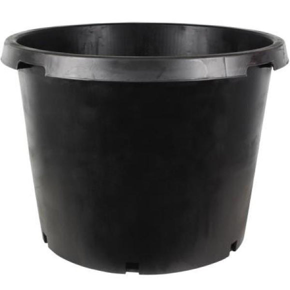 25 Gal. Black Resin Nursery Pot - C&J Gardening Center