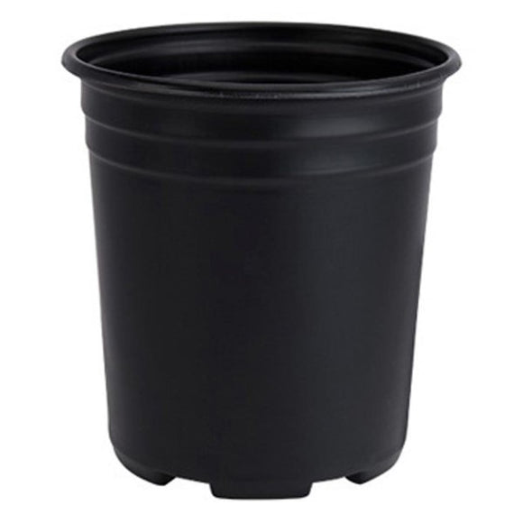 2 Gal. Black Nursery Pots ( 6-Pack)