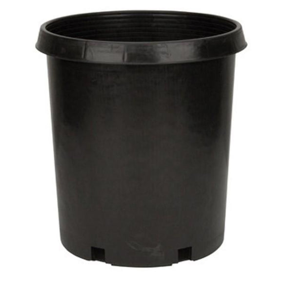 7 Gal. Black Resin Nursery Pot - C&J Gardening Center