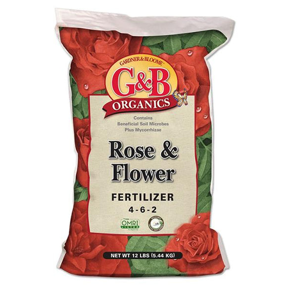 G&B Organics - Rose & Flower Fertilizer (4-6-2) - C&J Gardening Center