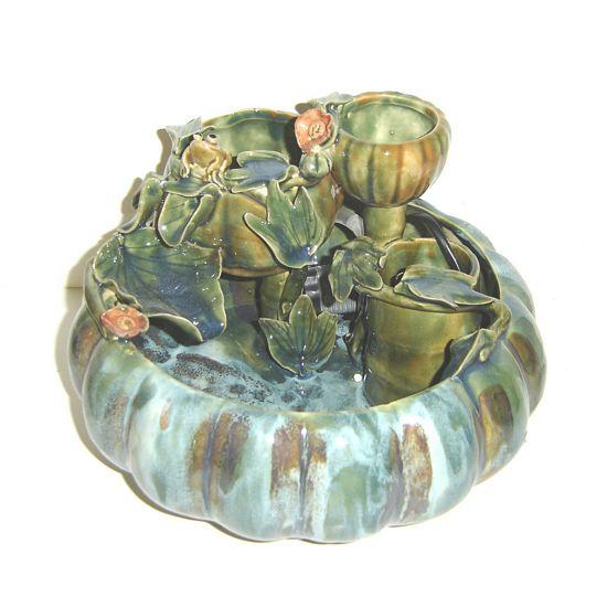 Ceramic Water Fountain - C&J Gardening Center
