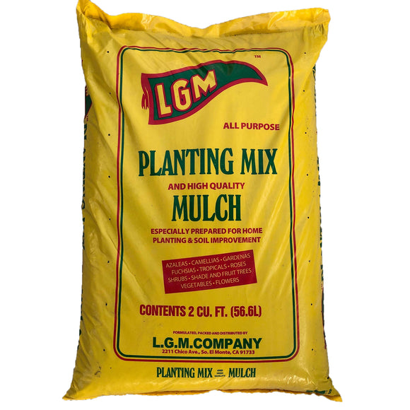 LGM - Planting Mix and High Quality Mulch