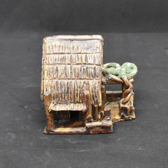 Miniature Ceramic House - C&J Gardening Center