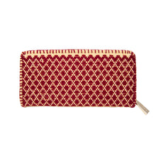 Mexican embroidered wallet, mini diamonds