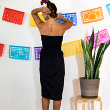 Strapless Mexican Dress