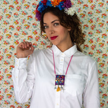 Mexican Embroidered Necklace
