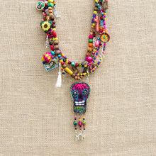 Mexican Catrina Necklace