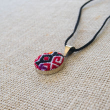 Mexican Embroidery Pendant