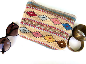 Folk Style Cosmetic Pouch