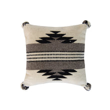 Gray Diamond Accent Pillow