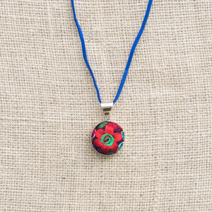 Flower on Center Necklace