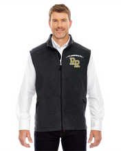 Load image into Gallery viewer, Item RR-FB-352-9 - Ash City - Core 365 Journey Fleece Vest - RR FB Laces Logo