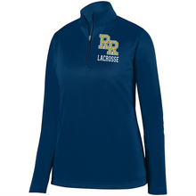 Load image into Gallery viewer, Item RR-LAX-101-1 - Augusta 1/4 Zip Wicking Fleece Pullover-RR Lacrosse Logo