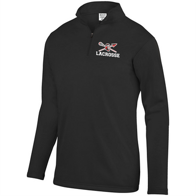 Item CHS-LAX-102 - Augusta 1/4 Zip Wicking Fleece Pullover-Cherokee Lacrosse Logo
