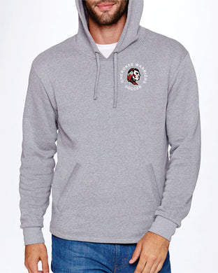 Item CHS-SOC-108-6 - Next Level Adult PCH Pullover Hoodie - Cherokee Warrior Soccer Logo