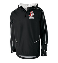 "Load image into Gallery viewer, Item CHS-SOC-415-1 - Holloway Wizard Pullover - Cherokee ""C"" Soccer Logo"