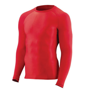 Item CHS-XC-721 - Augusta Hyperform Compression Long Sleeve Shirt - No Decoration