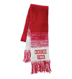Item CHS-SOC-904 - Holloway Ascent Scarf - Cherokee Soccer Logo