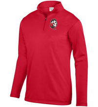 Load image into Gallery viewer, Item CHS-TRK-102-3 - Augusta 1/4 Zip Wicking Fleece Pullover - Warrior Cross Spear Alternative #1 Logo