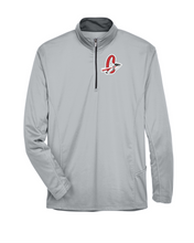 Load image into Gallery viewer, Item CHS-TRK-107-5 - UltraClub Cool & Dry Sport Quarter-Zip Pullover - Cherokee C Alternative #2 Logo