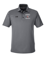 Load image into Gallery viewer, Item CHS-TRK-505-2 - Under Armour Tech Polo - Cross Spear Track Logo