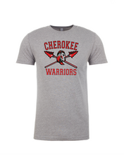 Load image into Gallery viewer, Item CHS-TRK-515-1 - Jerzees 5.6 oz. DRI-POWER Short Sleeve T-Shirt - Fear of the Spear Logo