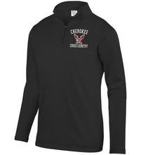 Load image into Gallery viewer, Item CHS-XC-102-2 - Augusta 1/4 Zip Wicking Fleece Pullover - Cherokee Cross Country Logo