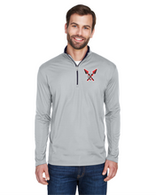 Load image into Gallery viewer, Item CHS-XC-107-3 - UltraClub Cool & Dry Sport Quarter-Zip Pullover - CHS Front XC Logo