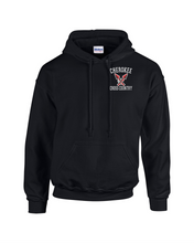Load image into Gallery viewer, Item CHS-XC-301-2 - Gildan Adult Heavy Blend 8 oz., 50/50 Fleece Hoodie - Cherokee Cross Country Logo