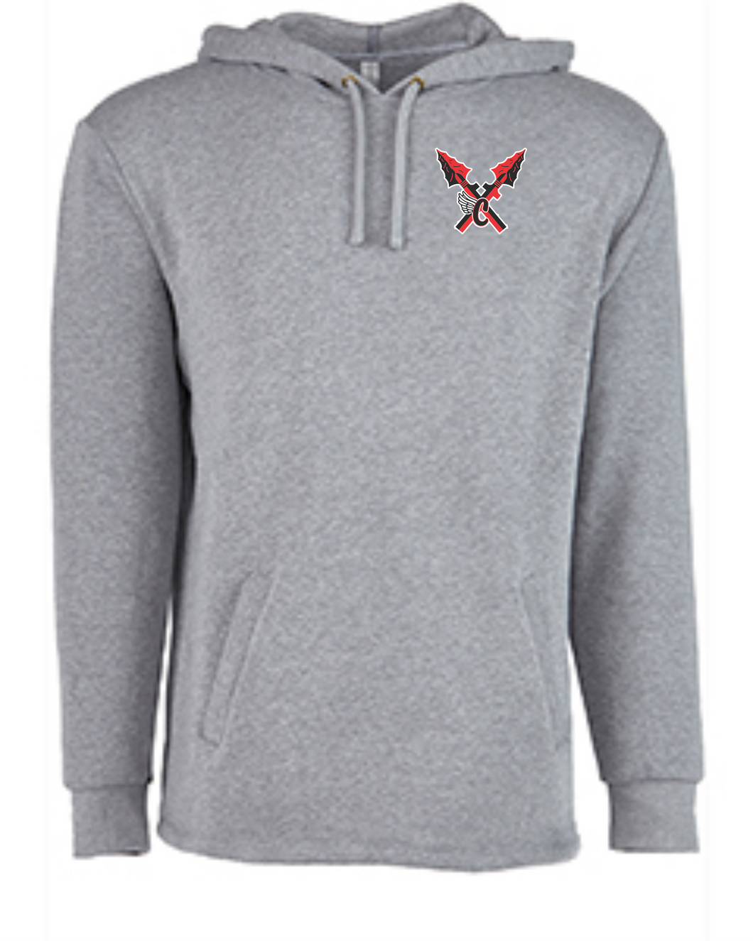 Item CHS-XC-314-3 - Next Level Adult PCH Pullover Hoodie - CHS Front XC Logo