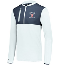 Load image into Gallery viewer, Item CHS-XC-405-2 - Holloway Weld Hybrid Pullover  - Cherokee Cross Country Logo