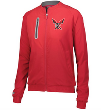Load image into Gallery viewer, Item CHS-XC-406-3 - Holloway Ladies Weld Jacket - CHS Front XC Logo