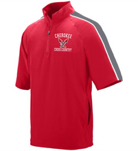 Load image into Gallery viewer, Item CHS-XC-418 - Augusta Quantum Short Sleeve Pullover - Cherokee Cross Country Logo