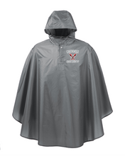 Load image into Gallery viewer, Item CHS-XC-460 - Team 365 Adult Zone Protect Packable Poncho - Cherokee Cross Country Logo