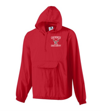 Load image into Gallery viewer, Item CHS-XC-461 - Augusta Pullover Rain Jacket In A Pocket - Cherokee Cross Country Logo