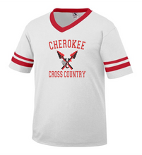 Load image into Gallery viewer, Item CHS-XC-510-2 - Augusta Sleeve Stripe Jersey - Cherokee Cross Country Logo