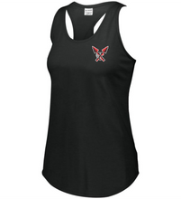 Load image into Gallery viewer, Item CHS-XC-512-3 - Augusta Ladies Lux Tri-Blend Tank - CHS Front XC Logo