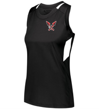 Load image into Gallery viewer, Item CHS-XC-513-3 - Augusta Ladies Crossover Tank - CHS Front XC Logo