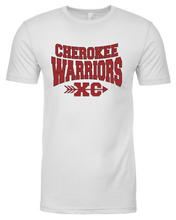Load image into Gallery viewer, Item CHS-XC-545-5 - Next Level CVC Crew - Cherokee Warriors XC Front and 2020 Warriors on Back Logos