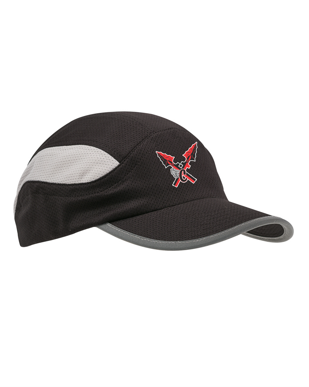 Item CHS-XC-907-3 - Big Accessories Mesh Runner Cap - CHS Front XC Logo