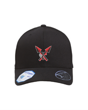 Load image into Gallery viewer, Item CHS-XC-910-3 - Flexfit Adult Pro-Formance Solid Cap - CHS Front XC Logo