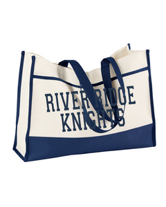 Item RR-FB-981 - Gemline Contemporary Tote-River Ridge KNIGHTS Logo