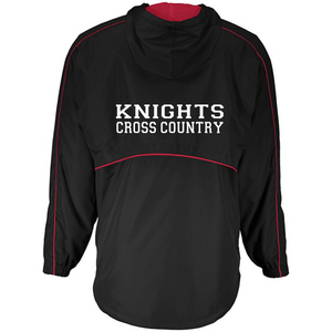 Item RR-XC-405-1 - Holloway Wizard Pullover - Front RR Cross Country Logo and Back - KNIGHTS Cross Country