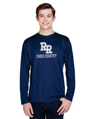 Item RR-XC-543-2 - Team 365 Zone Performance Long-Sleeve T-Shirt - RR Cross Country Logo