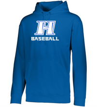 Load image into Gallery viewer, Item HG-BB-105-4 - Augusta Wicking Fleece Hoodie Pullover - Hobgood H Baseball Logo