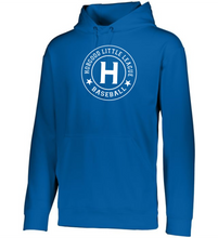 Load image into Gallery viewer, Item HG-BB-105-5 - Augusta Wicking Fleece Hoodie Pullover - Hobgood LLB-H Logo