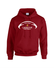 Load image into Gallery viewer, Item LAS-FB-303-1 - Gildan-Hoodie - Lassiter Football Logo