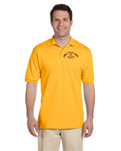 Load image into Gallery viewer, Item LAS-FB-502-1 - Jerzees Adult 5.6 oz. SpotShield™ Jersey Polo - Lassiter Football Logo