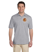 Load image into Gallery viewer, Item LAS-FB-502-2 - Jerzees Adult 5.6 oz. SpotShield™ Jersey Polo - Lassiter Trojan Logo